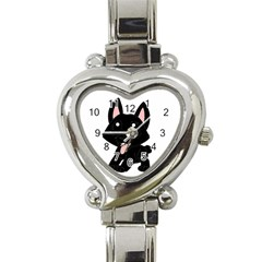 Cane Corso Cartoon Heart Italian Charm Watch