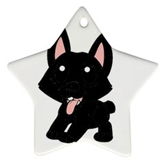 Cane Corso Cartoon Star Ornament (Two Sides)