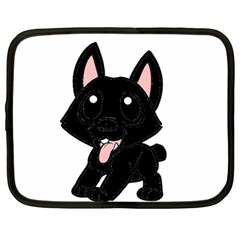 Cane Corso Cartoon Netbook Case (Large)