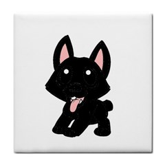 Cane Corso Cartoon Face Towel