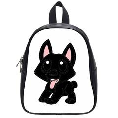 Cane Corso Cartoon School Bags (Small)