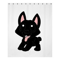 Cane Corso Cartoon Shower Curtain 60  X 72  (medium)