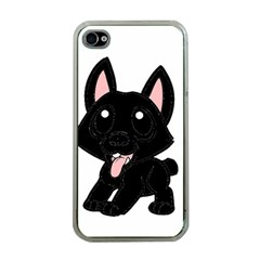 Cane Corso Cartoon Apple Iphone 4 Case (clear)