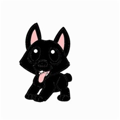 Cane Corso Cartoon Small Garden Flag (Two Sides)