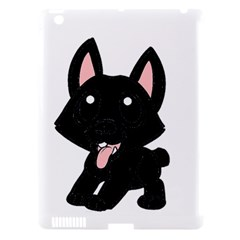 Cane Corso Cartoon Apple iPad 3/4 Hardshell Case (Compatible with Smart Cover)