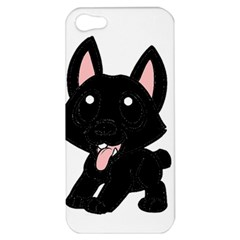 Cane Corso Cartoon Apple iPhone 5 Hardshell Case