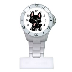 Cane Corso Cartoon Plastic Nurses Watch
