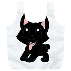 Cane Corso Cartoon Full Print Recycle Bags (l)