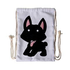 Cane Corso Cartoon Drawstring Bag (Small)