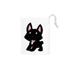 Cane Corso Cartoon Drawstring Pouches (xs)