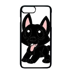 Cane Corso Cartoon Apple iPhone 7 Plus Seamless Case (Black)