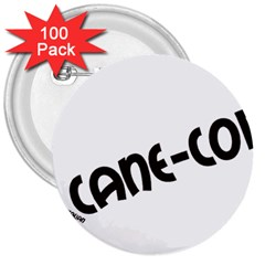 Cane Corso Mashup 3  Buttons (100 pack)