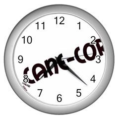 Cane Corso Mashup Wall Clocks (Silver)