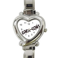 Cane Corso Mashup Heart Italian Charm Watch