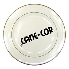 Cane Corso Mashup Porcelain Plates