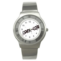 Cane Corso Mashup Stainless Steel Watch