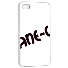 Cane Corso Mashup Apple iPhone 4/4s Seamless Case (White)