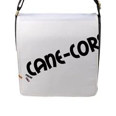 Cane Corso Mashup Flap Messenger Bag (L)