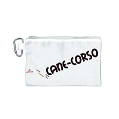 Cane Corso Mashup Canvas Cosmetic Bag (S)