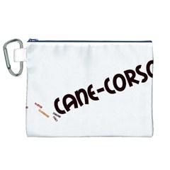 Cane Corso Mashup Canvas Cosmetic Bag (XL)