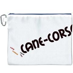Cane Corso Mashup Canvas Cosmetic Bag (xxxl)
