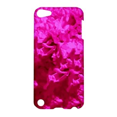 Hot Pink Floral Pattern Apple Ipod Touch 5 Hardshell Case