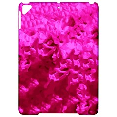 Hot Pink Floral Pattern Apple Ipad Pro 9 7   Hardshell Case