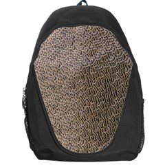 Animal Print Panthera Onca Texture Pattern Backpack Bag