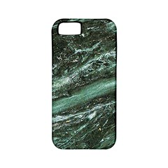Green Marble Stone Texture Emerald  Apple Iphone 5 Classic Hardshell Case (pc+silicone)