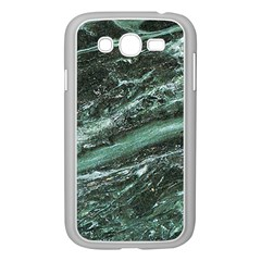 Green Marble Stone Texture Emerald  Samsung Galaxy Grand Duos I9082 Case (white)
