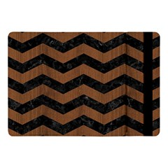Chevron3 Black Marble & Brown Wood Apple Ipad Pro 10 5   Flip Case