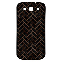 Brk2 Bk Mrbl Br Wood Samsung Galaxy S3 S Iii Classic Hardshell Back Case