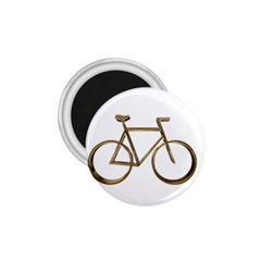 Elegant Gold Look Bicycle Cycling  1 75  Magnets