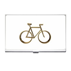 Elegant Gold Look Bicycle Cycling  Business Card Holders