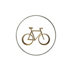 Elegant Gold Look Bicycle Cycling  Hat Clip Ball Marker (10 Pack)