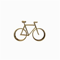 Elegant Gold Look Bicycle Cycling  Canvas 24  X 36