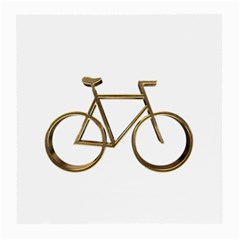 Elegant Gold Look Bicycle Cycling  Medium Glasses Cloth (2 Side)