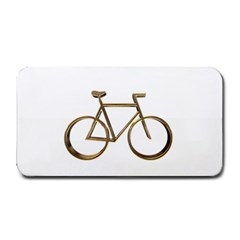 Elegant Gold Look Bicycle Cycling  Medium Bar Mats