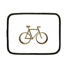 Elegant Gold Look Bicycle Cycling  Netbook Case (small)