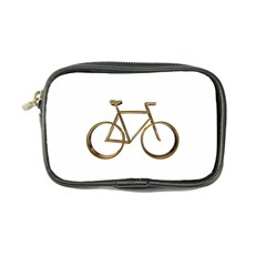 Elegant Gold Look Bicycle Cycling  Coin Purse