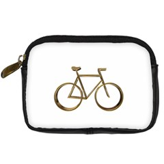 Elegant Gold Look Bicycle Cycling  Digital Camera Cases