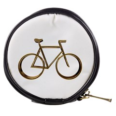 Elegant Gold Look Bicycle Cycling  Mini Makeup Bags