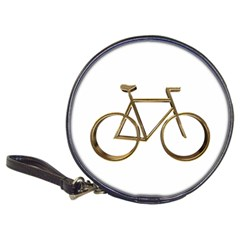 Elegant Gold Look Bicycle Cycling  Classic 20 Cd Wallets