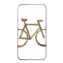 Elegant Gold Look Bicycle Cycling  Apple Iphone 4/4s Seamless Case (black)