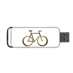 Elegant Gold Look Bicycle Cycling  Portable Usb Flash (two Sides)