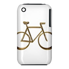 Elegant Gold Look Bicycle Cycling  Iphone 3s/3gs