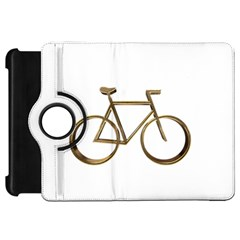 Elegant Gold Look Bicycle Cycling  Kindle Fire Hd 7
