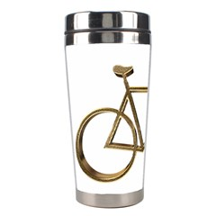 Elegant Gold Look Bicycle Cycling  Stainless Steel Travel Tumblers