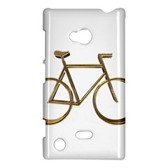 Elegant Gold Look Bicycle Cycling  Nokia Lumia 720