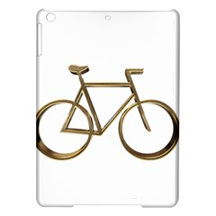 Elegant Gold Look Bicycle Cycling  Ipad Air Hardshell Cases